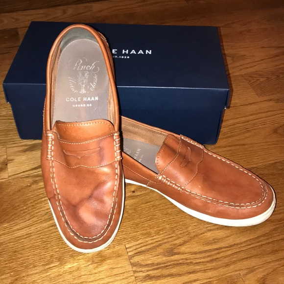 46e679dc9a7 Cole Haan Other - Cole Haan Leather Pinch Weekender Loafers
